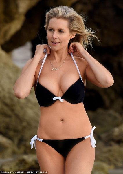 Abi Titmuss seen for first time in 2 years after quitting